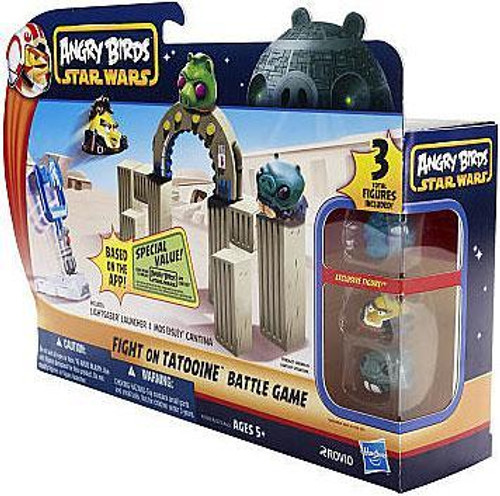 Star Wars Angry Birds Fight On Tatooine Battle Game