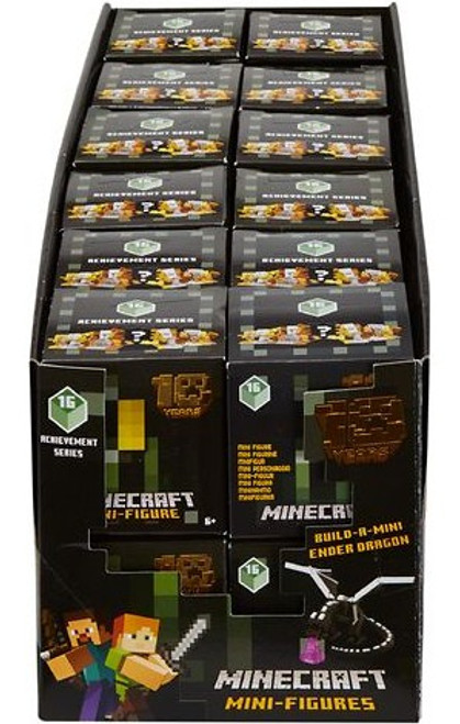 Minecraft Achievement Series 16 Mystery Box [24 Packs]