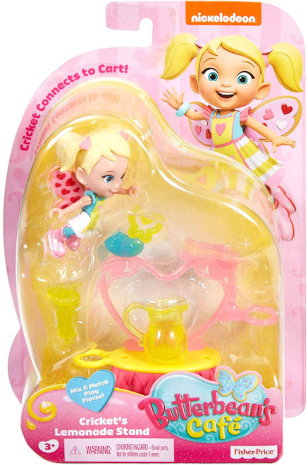 Fisher Price Butterbean's Cafe Cricket's Lemonade Stand Figure Set