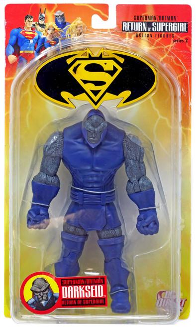 DC Superman Batman Series 2 Return of Supergirl Darkseid Action Figure [Damaged Package]