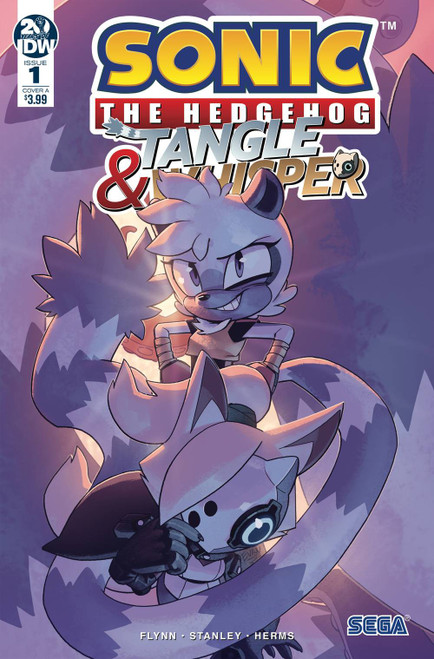 IDW Sonic The Hedgehog Tangle & Whisper #1 of 4 Comic Book