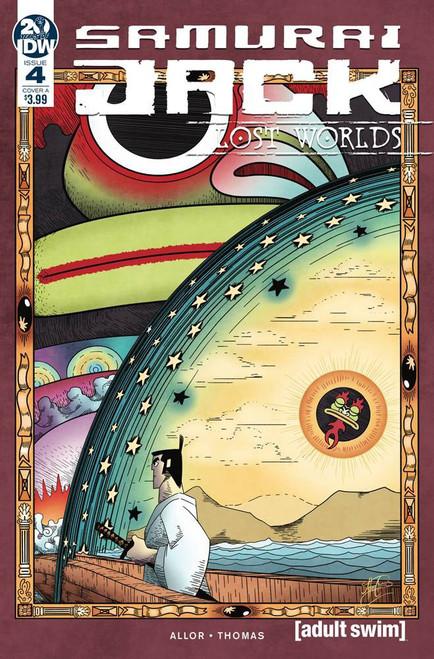 IDW Samurai Jack Lost Worlds #4 Comic Book