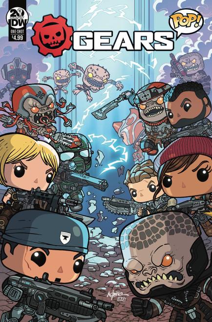 IDW Gears of War Pop #1 One-Shot Comic Book