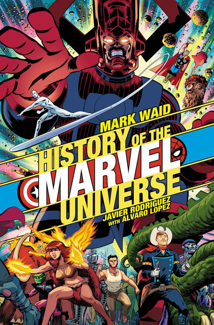 Marvel Comics History Of Marvel Universe #1 of 6 Comic Book [Javier Rodriguez Variant Cover]