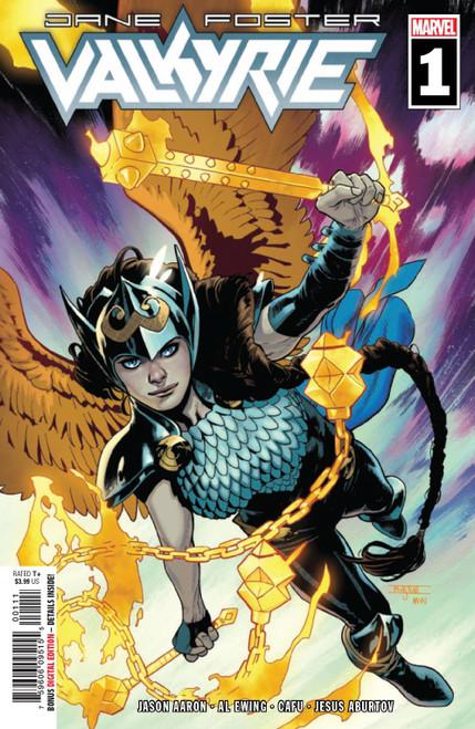 Marvel Comics Valkyrie Jane Foster #1 Comic Book
