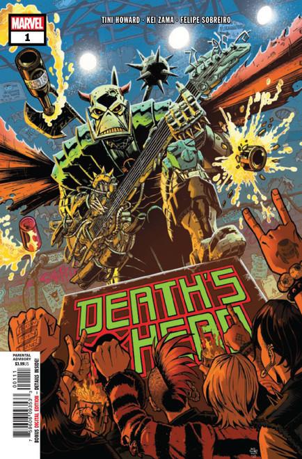 Marvel Comics Death's Head #1 of 4 Comic Book
