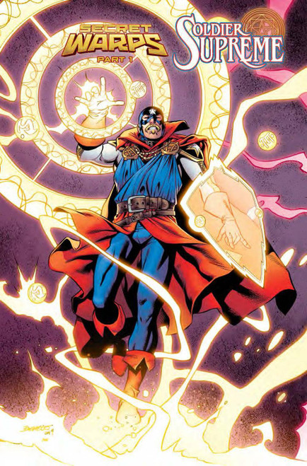 Marvel Comics Secret Warps Soldier Supreme Annual #1 Comic Book [Carlos Pacheco Connecting Variant Cover]