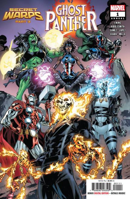 Marvel Comics Secret Warps Ghost Panther Annual #1 Comic Book
