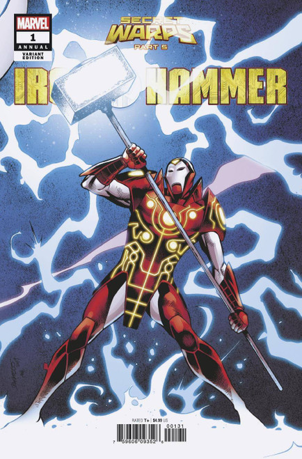 Marvel Comics Secret Warps Iron Hammer Annual #1 Comic Book [Carlos Pacheco Connecting Variant Cover]