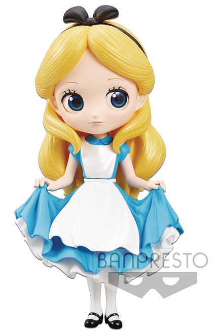 Disney Alice in Wonderland Q Posket Alice 5.5-Inch Collectible PVC Figure (Pre-Order ships February)