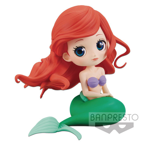 Disney Little Mermaid Q Posket Ariel 5.5-Inch Collectible PVC Figure