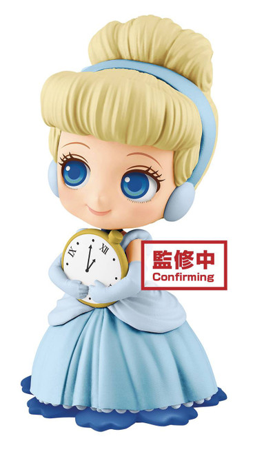 Disney Q Posket Cinderella 5.5-Inch Collectible PVC Figure [Light Dress] (Pre-Order ships February)
