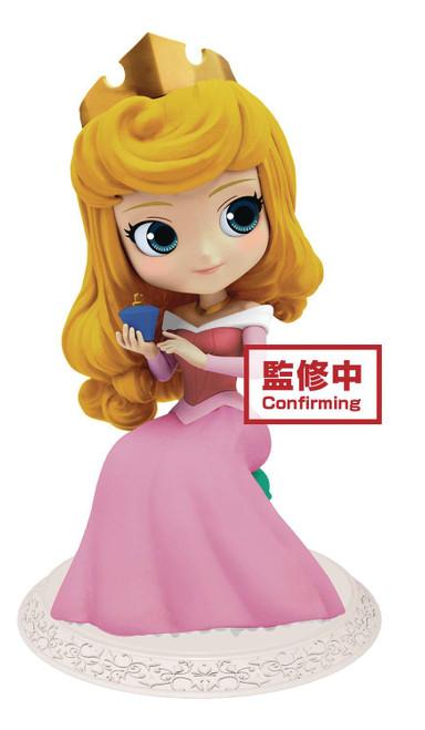Disney Sleeping Beauty Q Posket Aurora 5.5-Inch Collectible PVC Figure [Dark Dress]