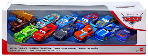 Disney / Pixar Cars Cars 3 Piston Cup Race Diecast Car 11-Pack [Version 3]