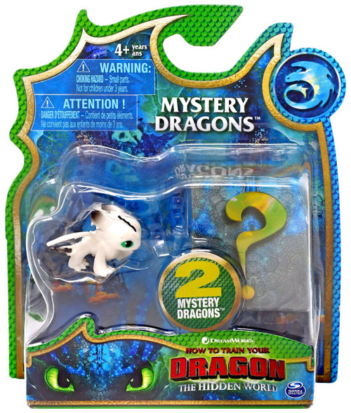 How to Train Your Dragon The Hidden World Mystery Dragons Night Light Mystery 2-Pack
