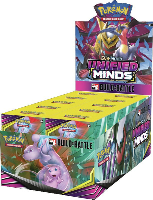 Pokemon Trading Card Game Sun & Moon Unified Minds Build & Battle DISPLAY Box [10 Units]