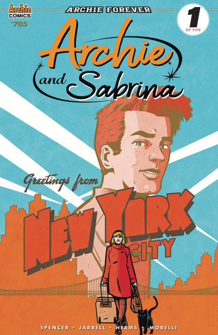 Archie Comic Publications Archie and Sabrina #1 Comic Book [Tyler Boss Cover B]