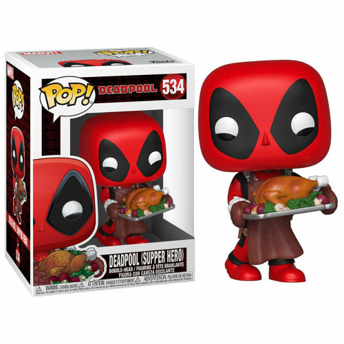 Funko POP! Marvel Holiday Deadpool Vinyl Bobble Head #534
