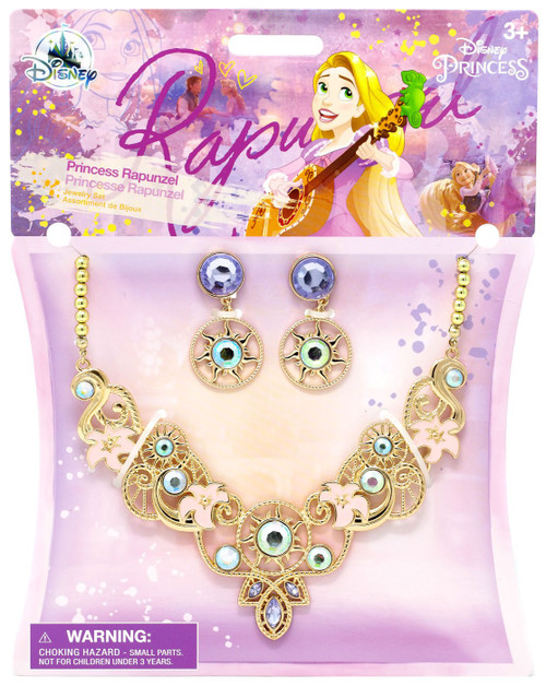 Disney Tangled Princess Rapunzel Exclusive Jewelry Set
