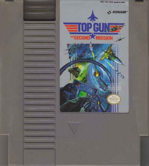 Nintendo NES Top Gun Video Game Cartridge [Loose] [Played]
