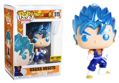 Funko Dragon Ball Z POP! Animation SSGSS Vegito Exclusive Vinyl Figure #515