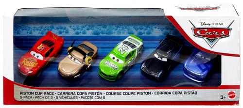 Disney / Pixar Cars Cars 3 Piston Cup Race Diecast Car 5-Pack [Shannon Spokes, Danny Swerves, Lightning McQueen, Jackson Storm & Brick Yardley]