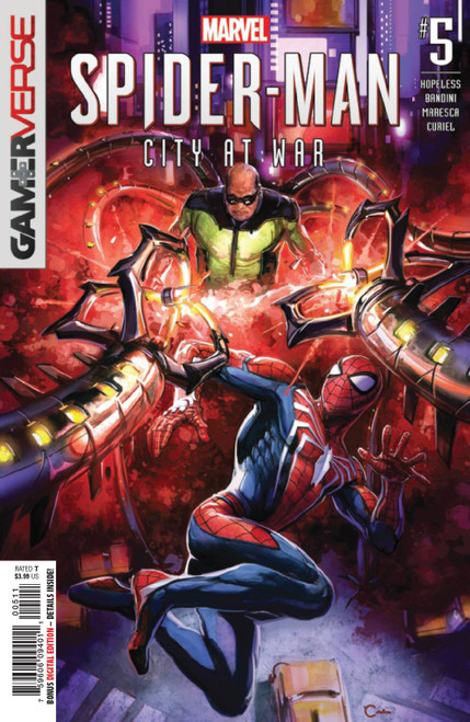 Marvel Comics Spider-Man City at War #5 of 6 Comic Book