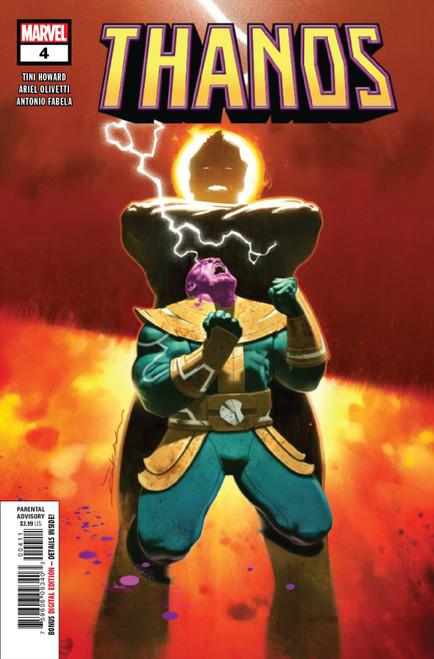 Marvel Comics Thanos #4 of 6 Comic Book