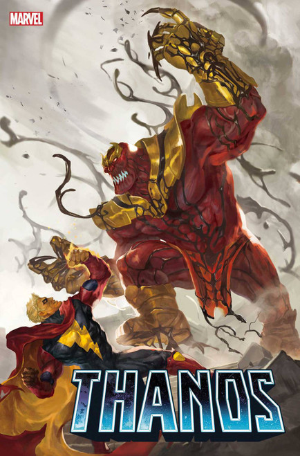 Marvel Comics Thanos #4 of 6 Comic Book [Sunghan Yune Carnage-ized Variant Cover]