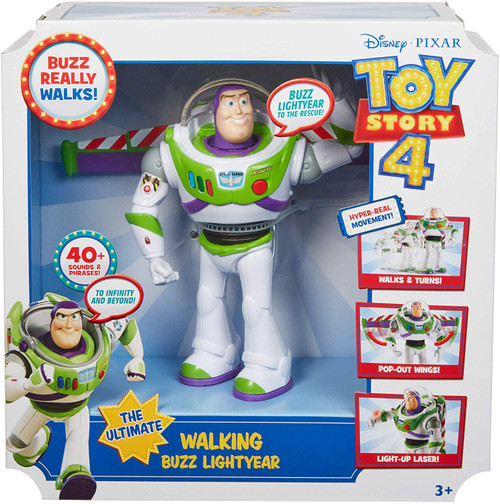 Toy Story 4 Ultimate Walking Buzz Lightyear Action Figure [Damaged Package]