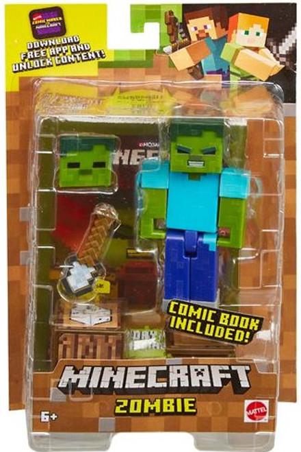 Minecraft Comic Maker Zombie Action Figure