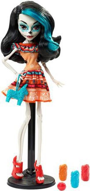 Monster High Scarnival Skelita Calaveras 10.5-Inch Doll