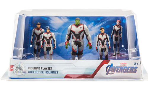 Disney Marvel Avengers Endgame Exclusive 5-Piece PVC Figure Playset