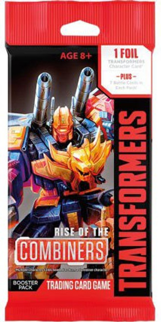 Transformers Trading Card Game Rise of the Combiners Booster Pack