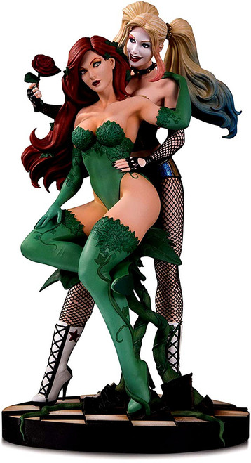DC Designer Series Harley Quinn & Poison Ivy 10.7-Inch Collectible Statue [Emanuela Lupacchino]