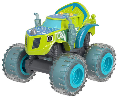 Fisher Price Blaze & the Monster Machines Nickelodeon Robot Riders Zeg Diecast Car