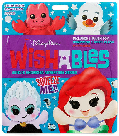 Disney Wishables Ariel's Undersea Adventure Exclusive 5-Inch Micro Plush Mystery Pack [1 RANDOM Figure]