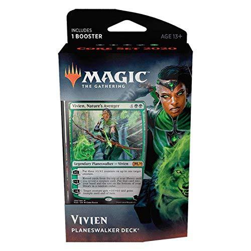 MtG Trading Card Game 2020 Core Set Vivien Planeswalker Deck