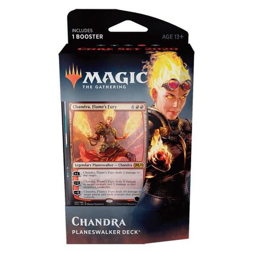 MtG Trading Card Game 2020 Core Set Chandra Planeswalker Deck