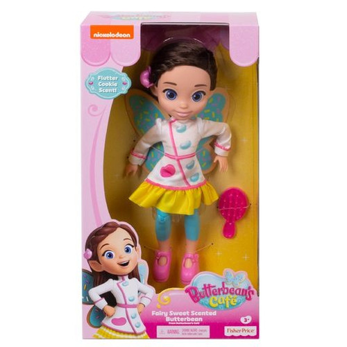 Fisher Price Butterbean's Cafe Fairy Sweet Scented Butterbean 11-Inch Doll