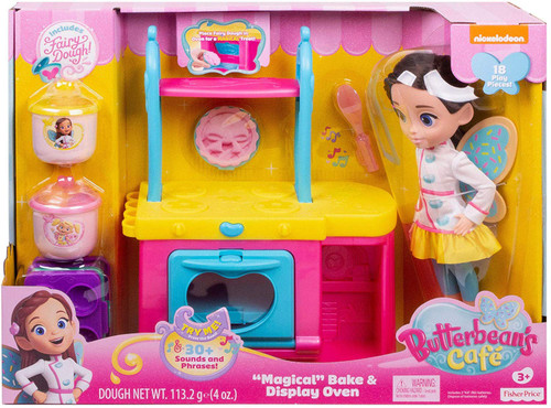 "Fisher Price Butterbean's Cafe ""Magical"" Bake & Display Oven Playset"