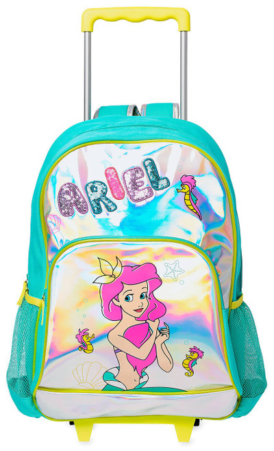 Disney The Little Mermaid Rolling Backpack