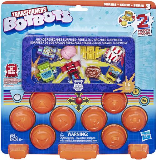 Transformers BotBots Series 3 Arcade Renegade Surprise Mini Figure 16-Pack [RANDOM Figures!]