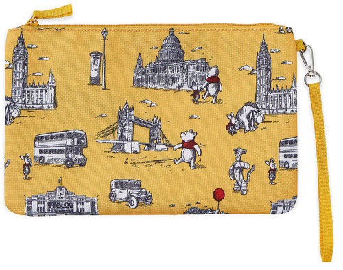 Disney Winnie the Pooh Exclusive Zippered Pouch [London Tour]