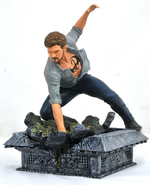 Netflix Marvel Gallery Iron Fist 8-Inch PVC Figure Statue [Damaged Package]