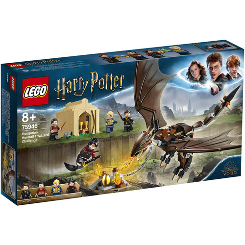 LEGO Harry Potter Hungarian Horntail Triwizard Challenge Set #75946