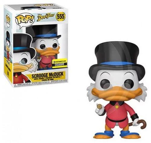 Funko DuckTales POP! Disney Scrooge McDuck Exclusive Vinyl Figure #555 [Red Coat]
