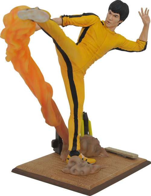 Gallery Series Bruce Lee 10-Inch PVC Figure Statue [Kicking Version]