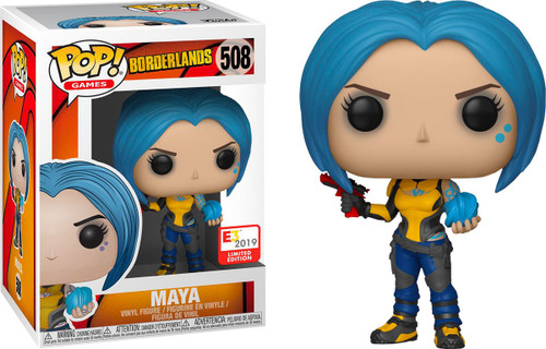 Funko Borderlands POP! Games Maya Exclusive Vinyl Figure #508