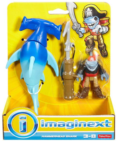 Fisher Price Imaginext Hammerhead Shark Figure Set